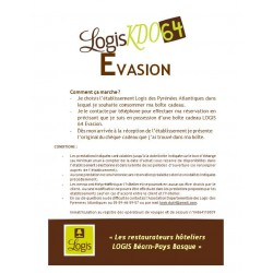 Boîte Evasion 85 €